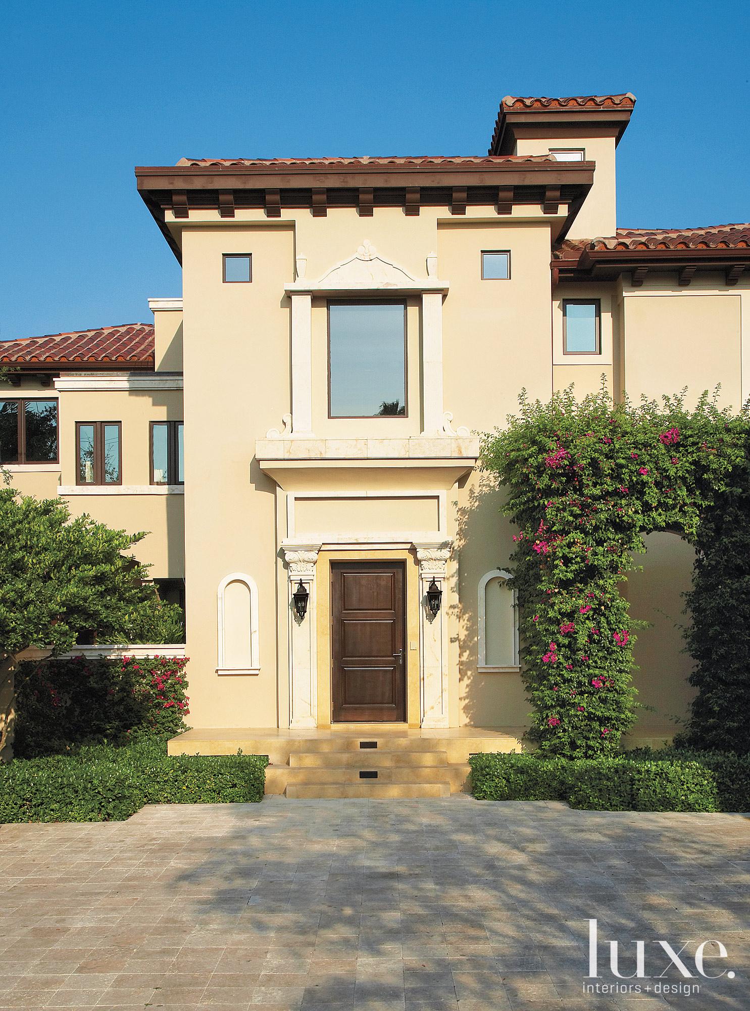 mediterranean house exterior