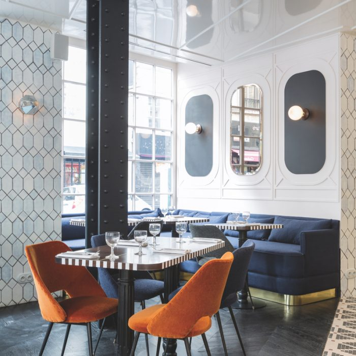 Located In The Lively Opera District Of Paris 9th Arrondissement Art Nouveau Inspired Bistro Restaurant At Hotel Panache Is Emblematic