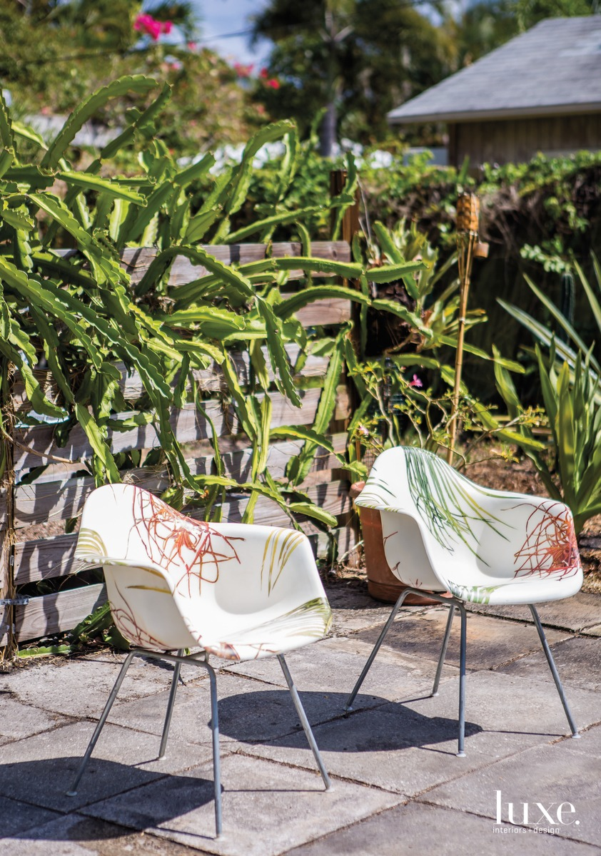 Putting A Floridian Spin On Midcentury Modern Furniture