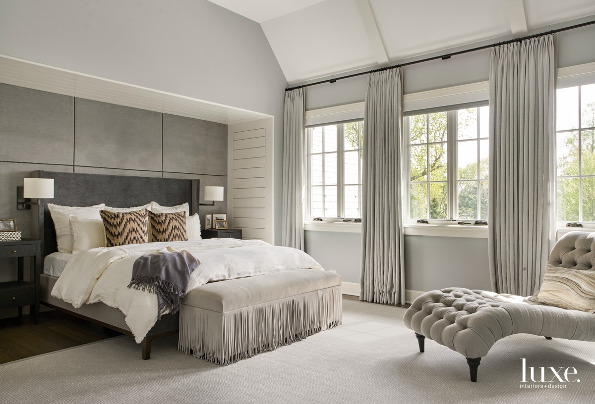 traditional bedroom neutral gray palette