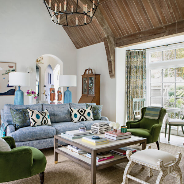 A Tudor-Style Home Redo Keeps The Vintage Charm
