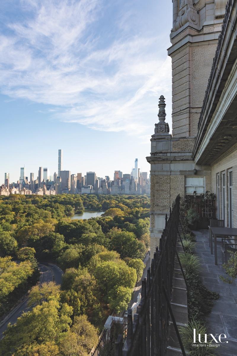 exterior terrace Central Park