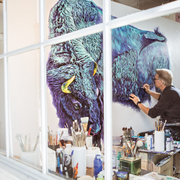Behind The Animal Portraits By This Palm Beach Artist
