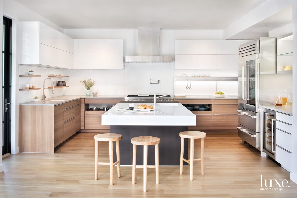 modern kitchen neutral palette