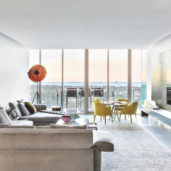 Ocean Views Inspire A Key Biscayne Penthouse's Design