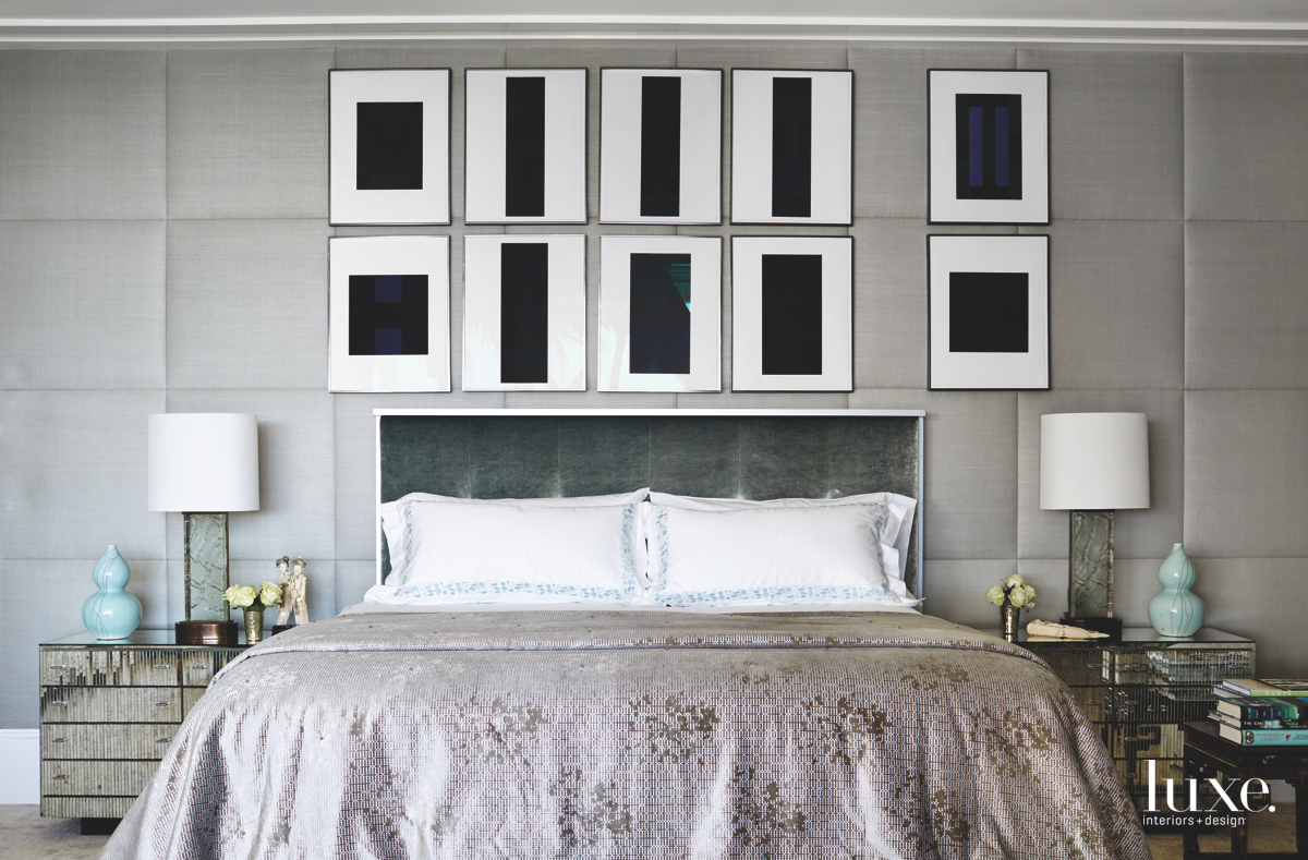 contemporary bedroom gray palette screen...