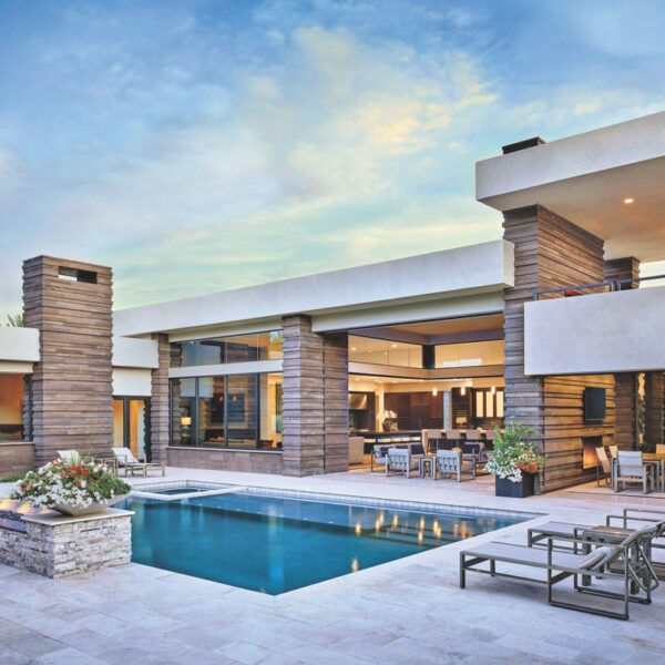 An Arizona Home Centers Around Entertaining