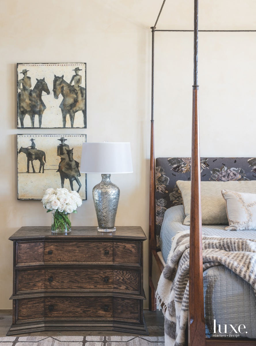 mediterranean bedroom wood dresser antique...