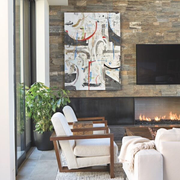 Finding Common Ground In A Hillside Arizona Home
