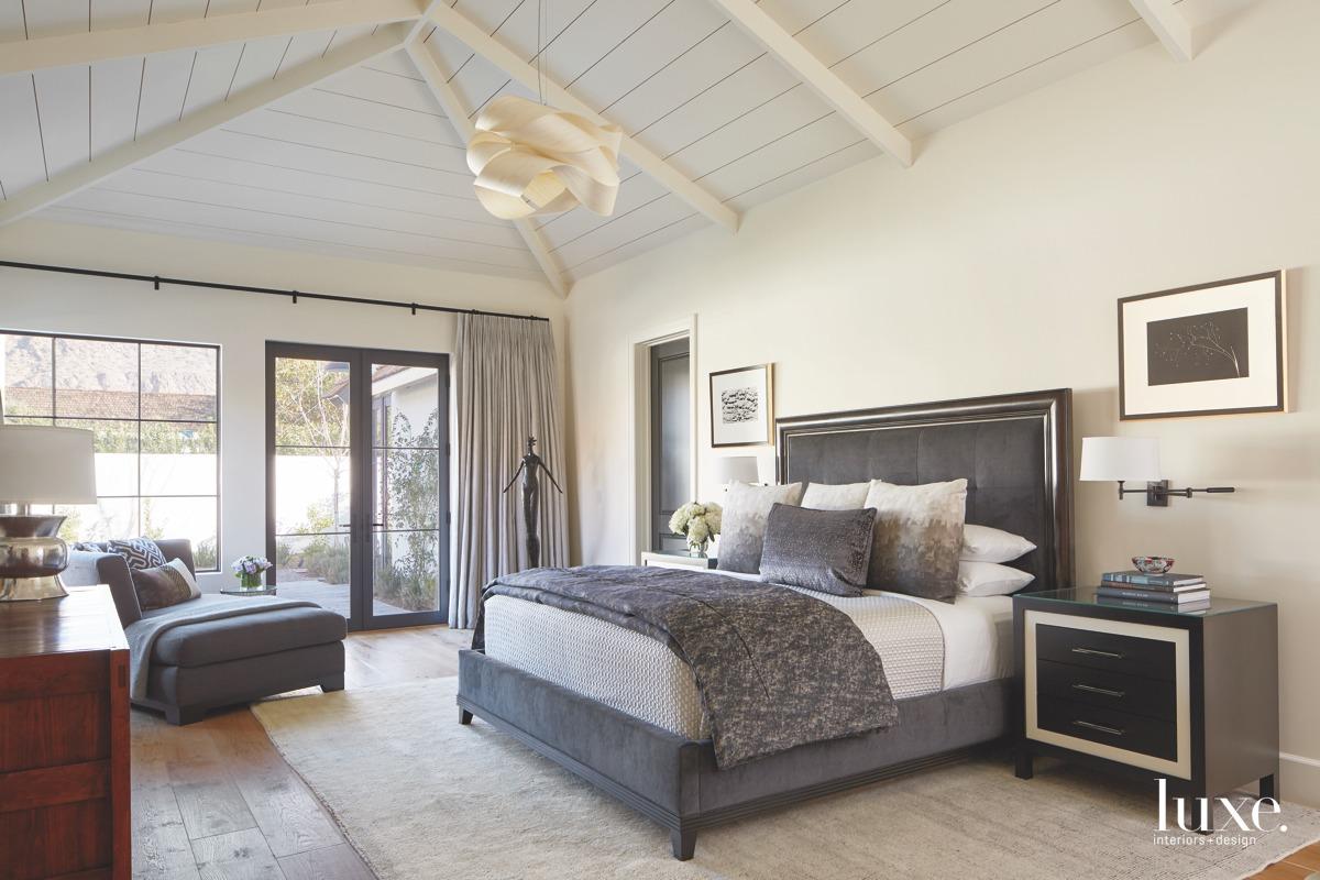 contemporary neutral bedroom