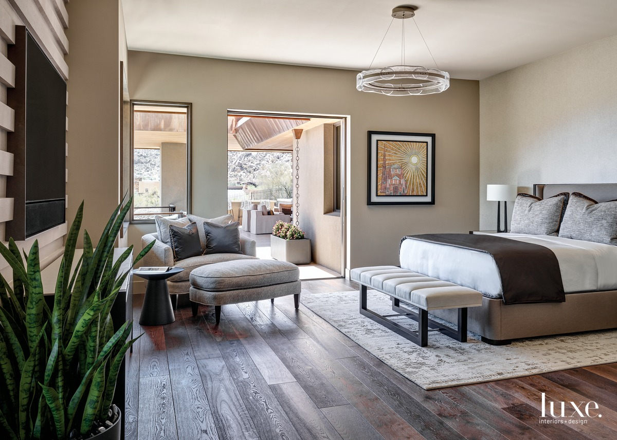 transitional bedroom neutral palette