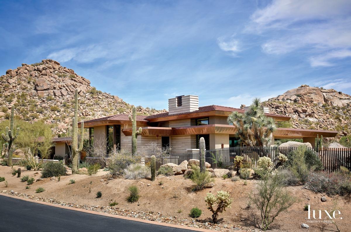 exterior and landscape desert
