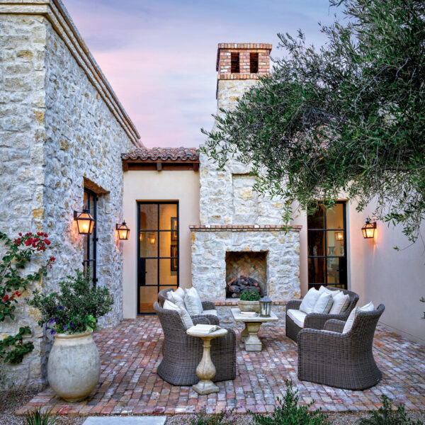 Mediterranean Charm Infuses A Bright Arizona Residence