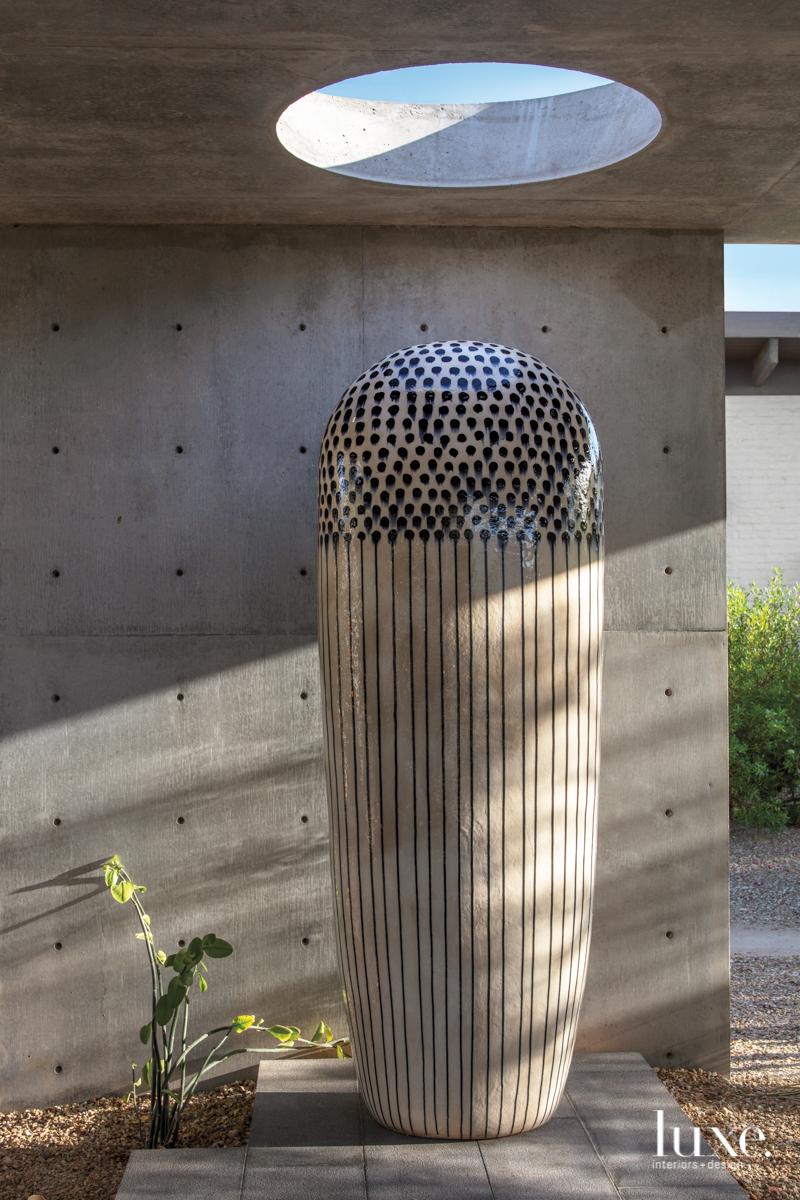 modern exterior sculpture