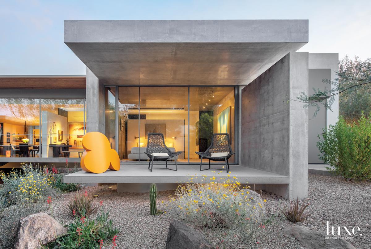 modern exterior gray