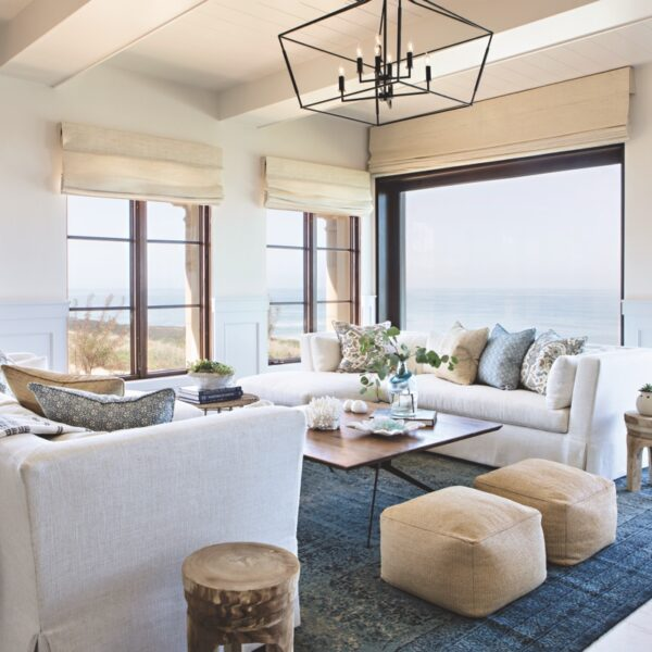 Ocean Hues Imbue A Remodeled Home In Cali