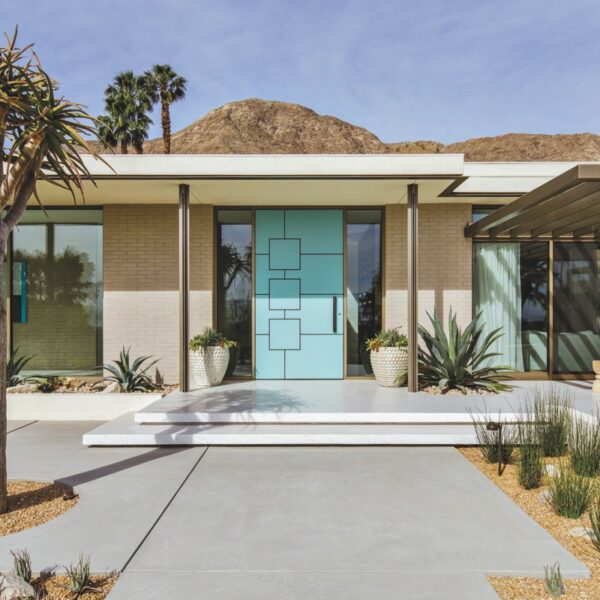 Inside A 1960s Desert Modern Home All About Fun