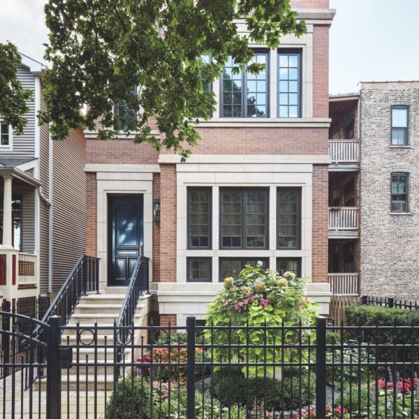 A Chicago Townhome Gets The London Treatment