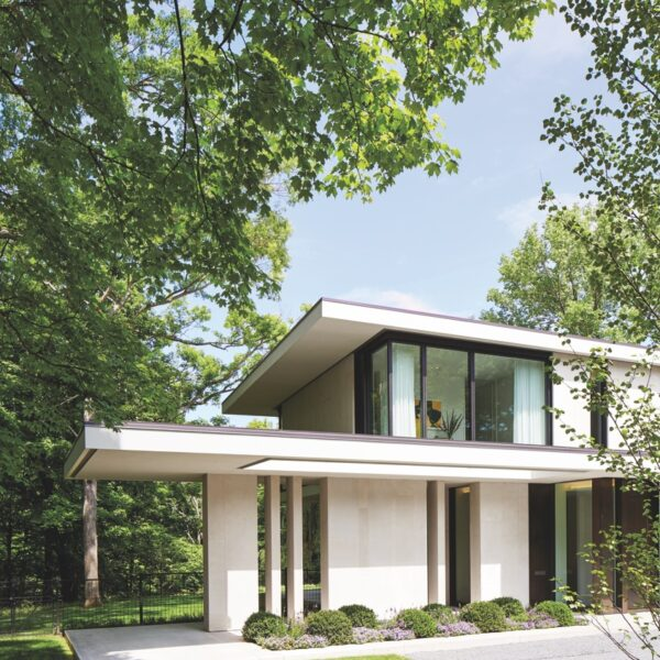 Nature Is The Muse For A House On Lake Michigan