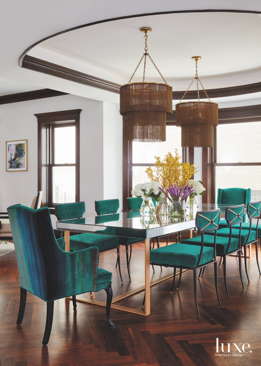 modern neutral dining room green-and-blue...