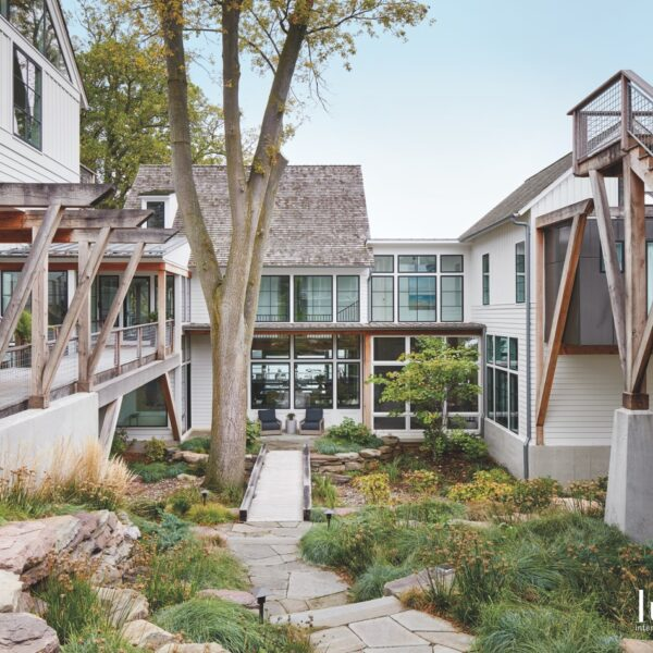 A Rustic Illinois Lake Cottage Gets a Modern Revamp