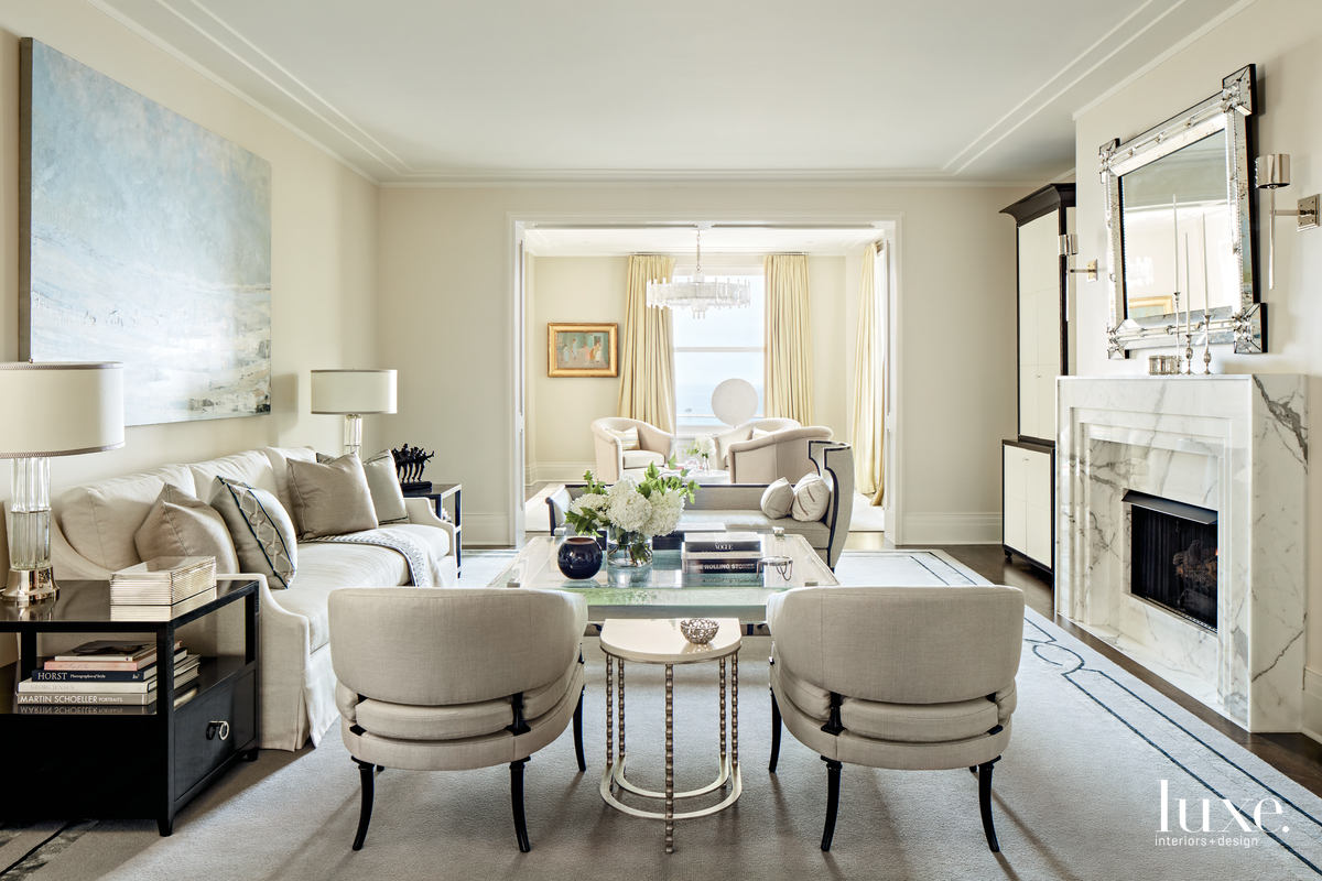 contemporary living room neutral palette