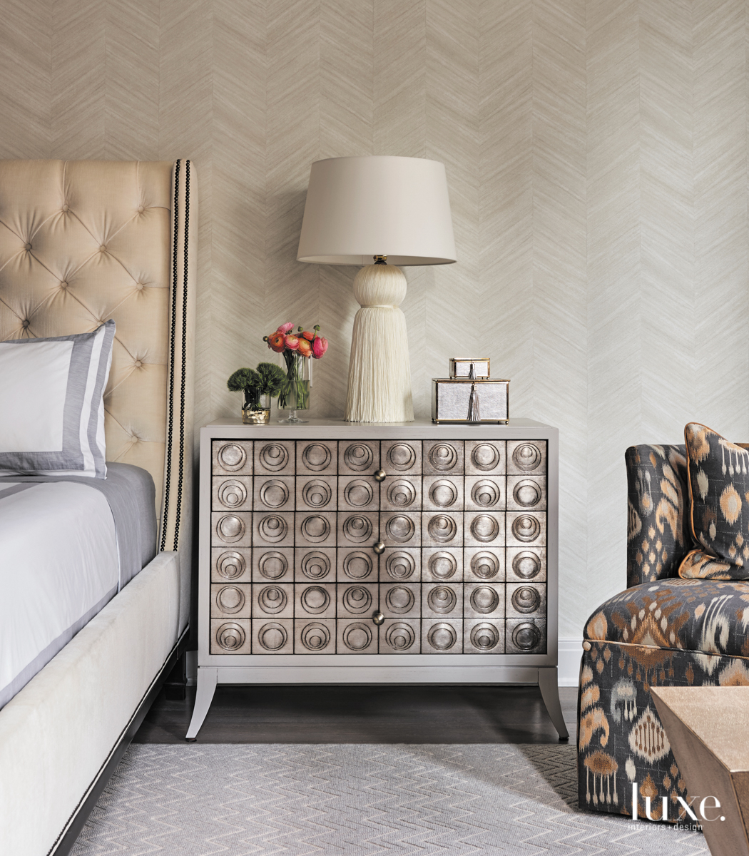 modern bedroom neutral palette