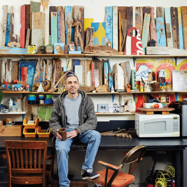 Chicago Visionary Chris Silva Transforms Scraps Into Art