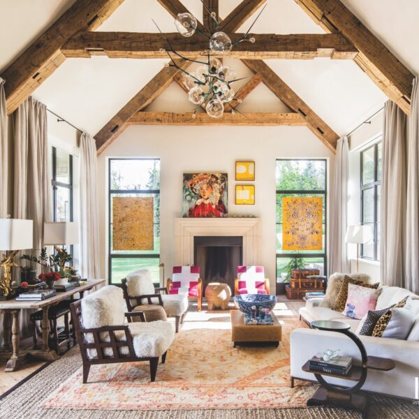 Stylish Interiors Fill A Colorado Farmhouse