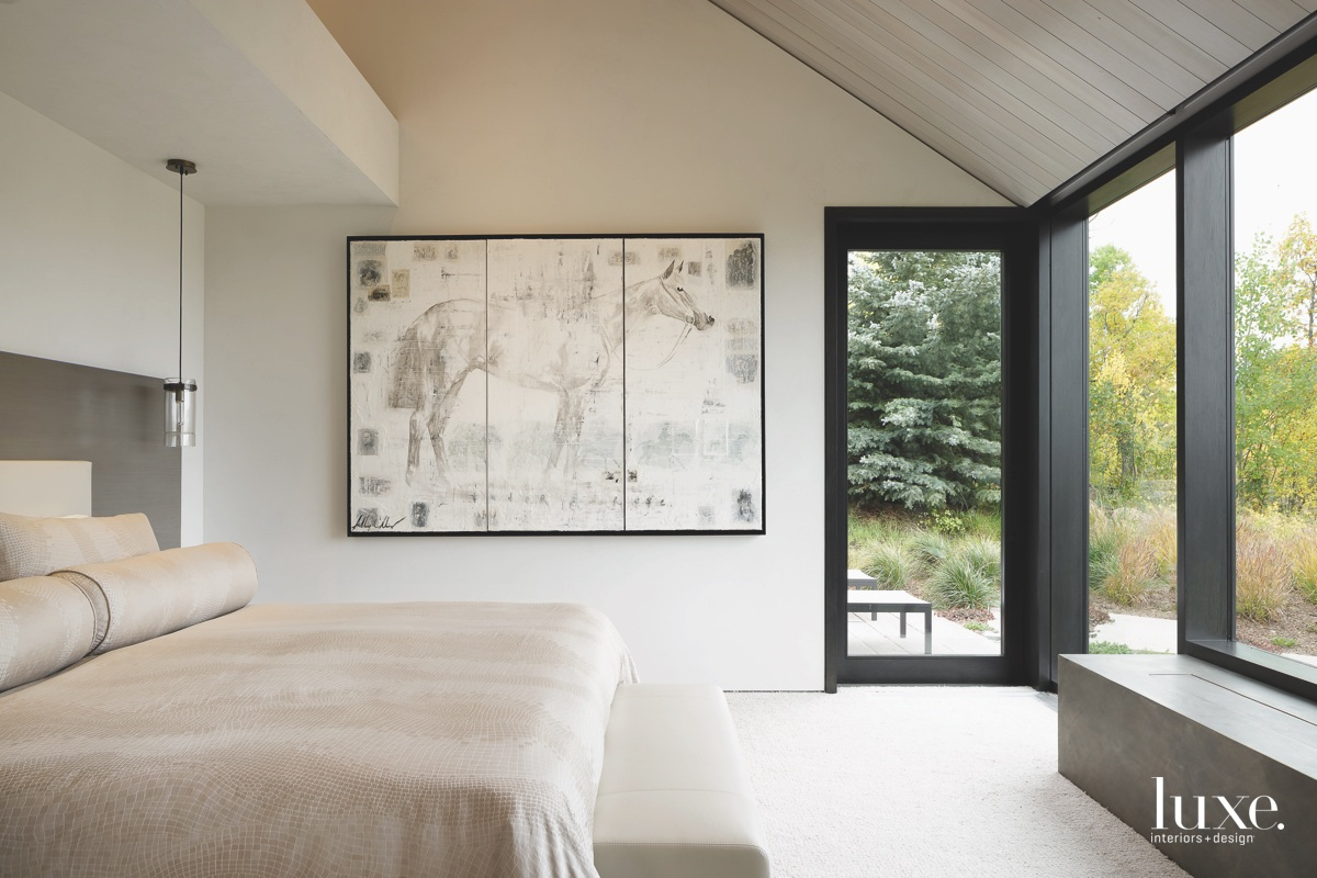 contemporary bedroom neutral tones