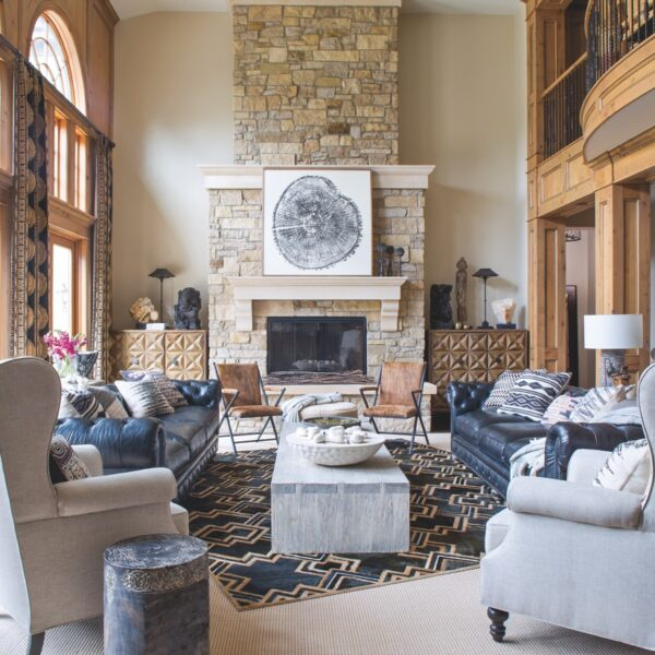 A Colorado Home Rocks Kid-Proof Global Style