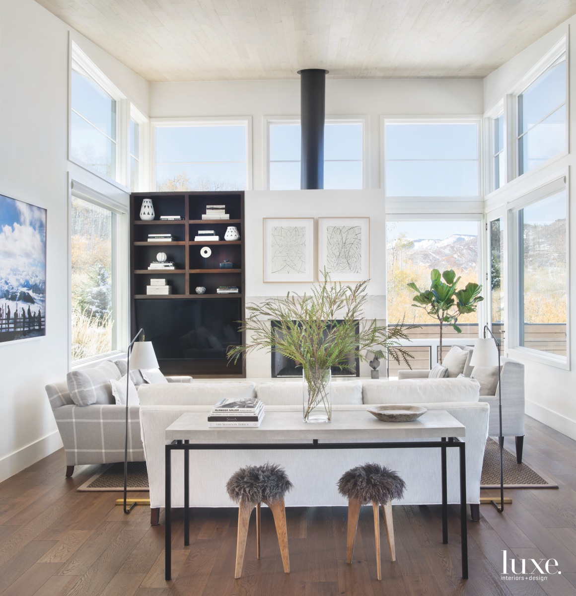 A Colorado Family Home Is Designed For Views {A Colorado Family Home Is Designed For Views} – English
