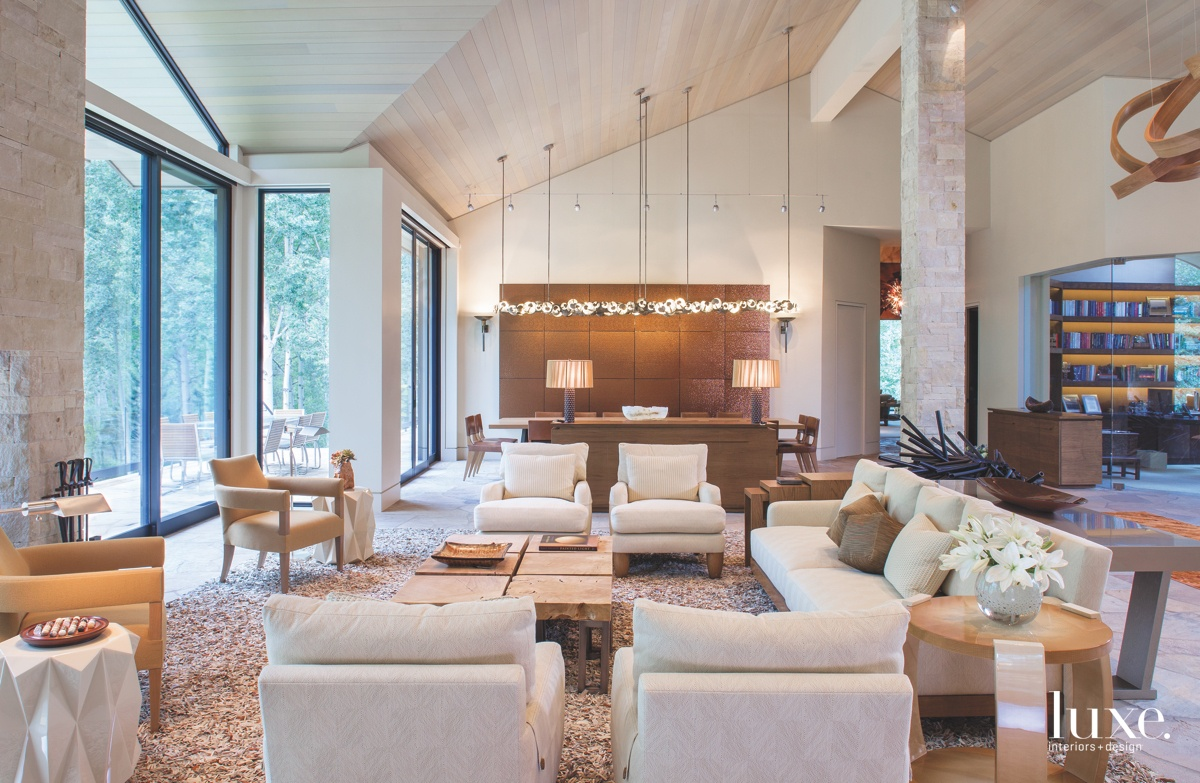 contemporary neutral great room living...