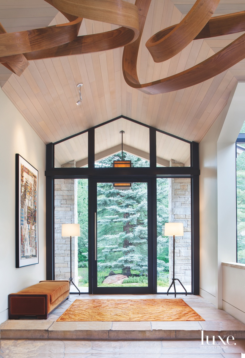 An Aspen Getaway Sports A Clean, Contemporary Look {An Aspen Getaway Sports A Clean, Contemporary Look} – English