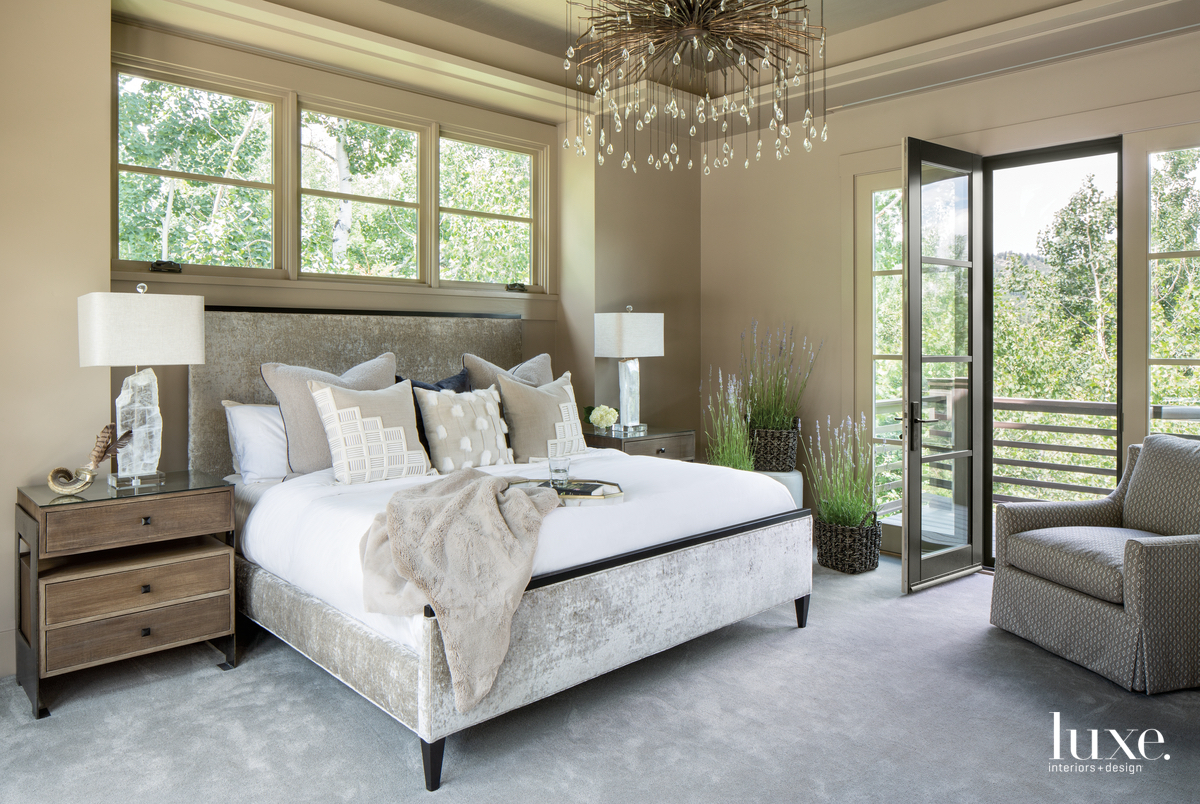 mountain neutral bedroom