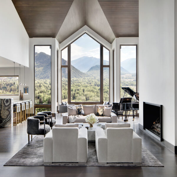 An Aspen Home Showcases Bold Taste, Mountain Views