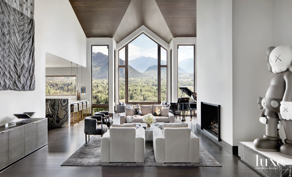 An Aspen Home Showcases Bold Taste, Mountain Views {An Aspen Home Showcases Bold Taste, Mountain Views} – English