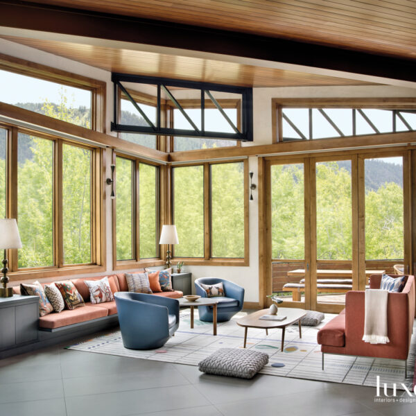 Old And New Come Together In A Modern Aspen Home
