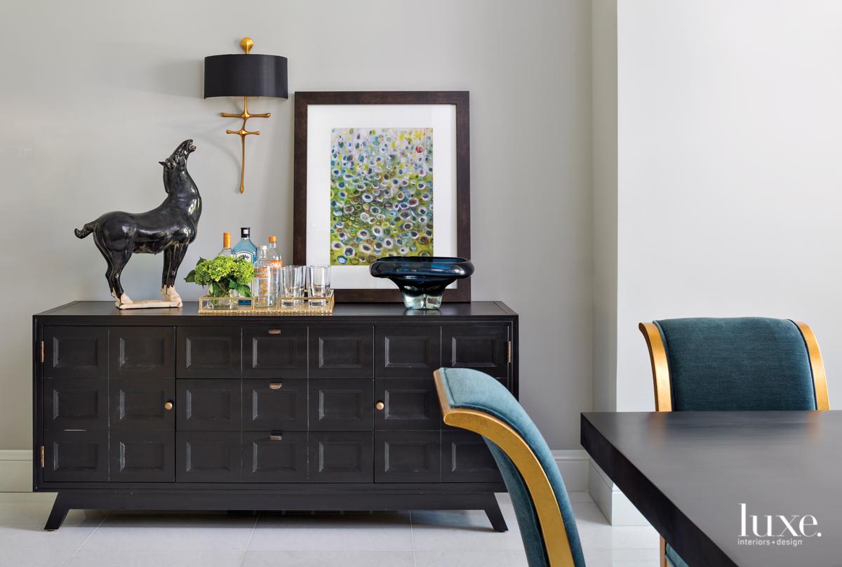 mid-century modern dining room mahogany...