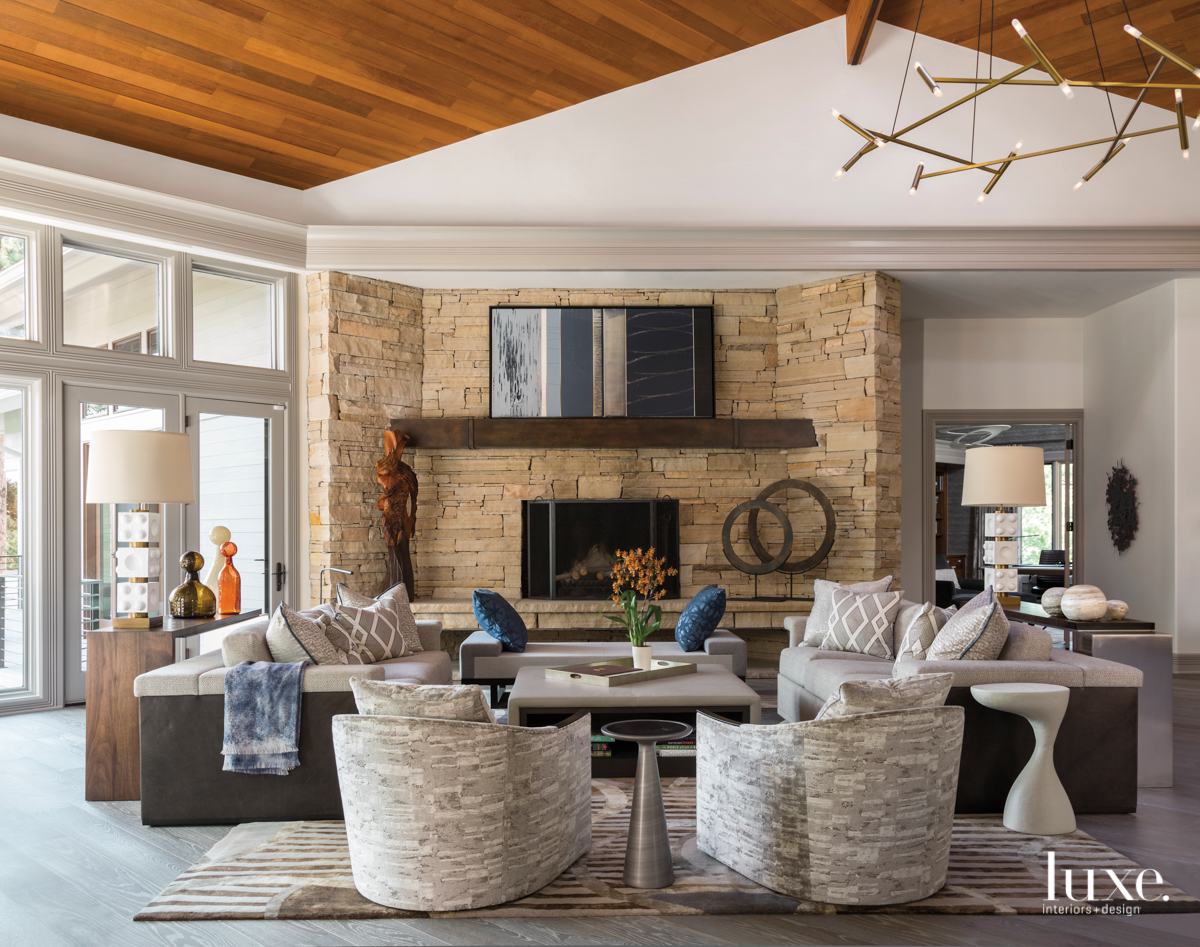 contemporary neutral living room