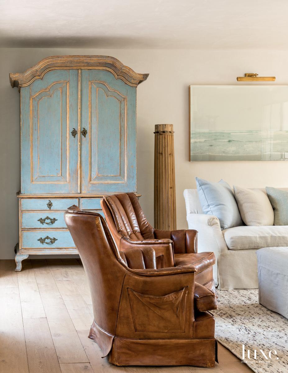 rustic den living room brown...