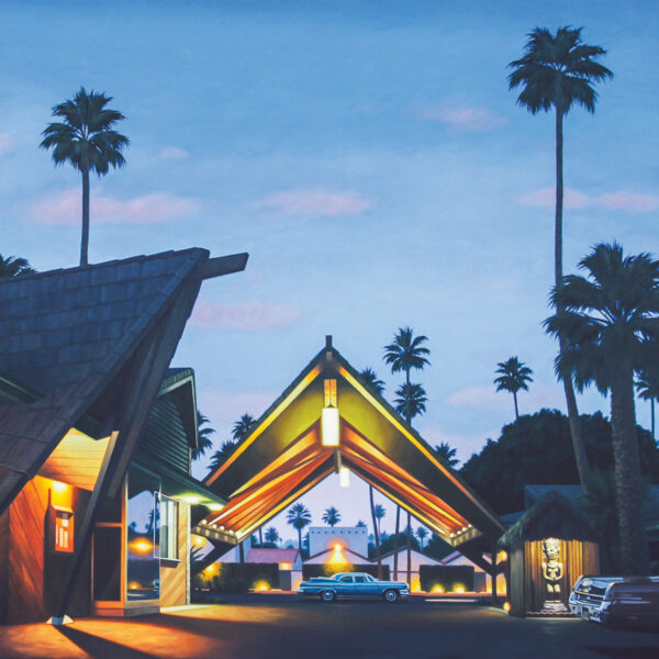 Behind Midcentury Pieces That Inspire This L.A. Painter