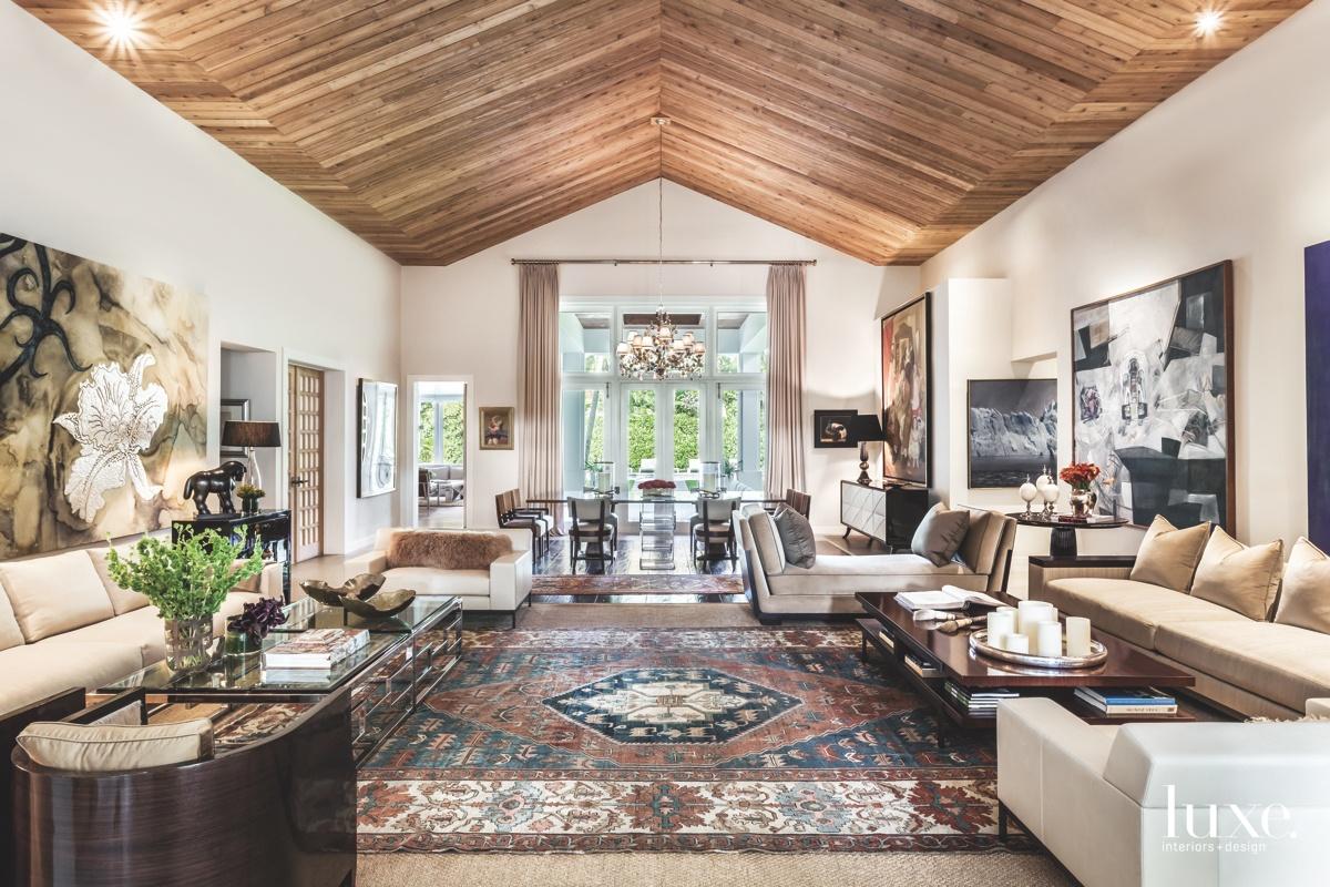 modern living room neutral antique...