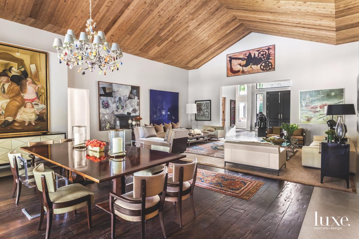 modern dining room living room...