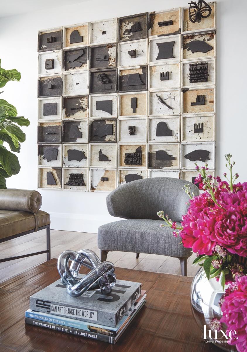 contemporary living room neutral