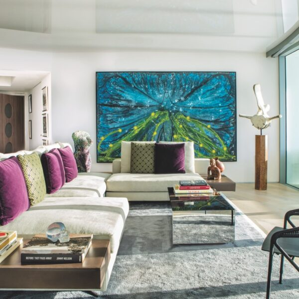 A South Beach Condo Highlights Its Owner's Works