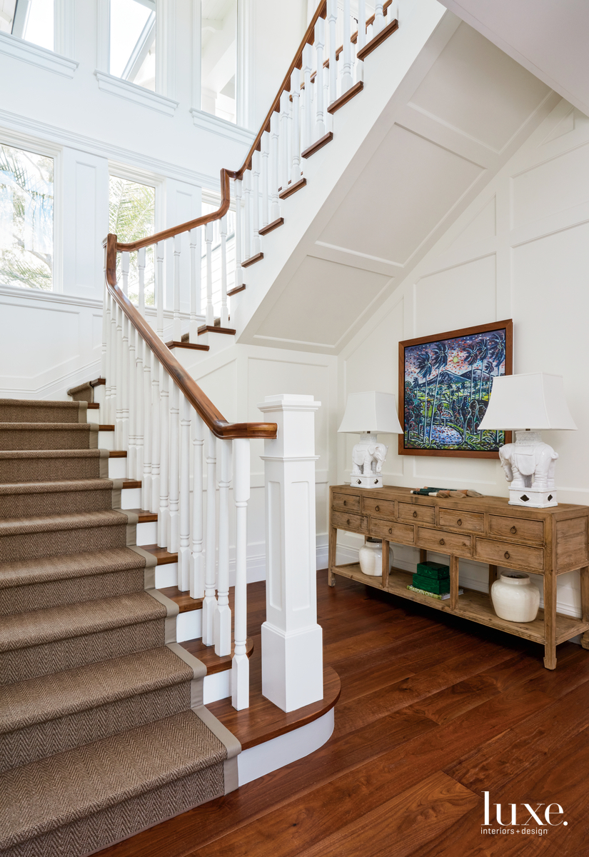 transitional neutral staircase