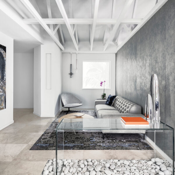 Natural Light, Rock Gardens Create A Minimalist Feel