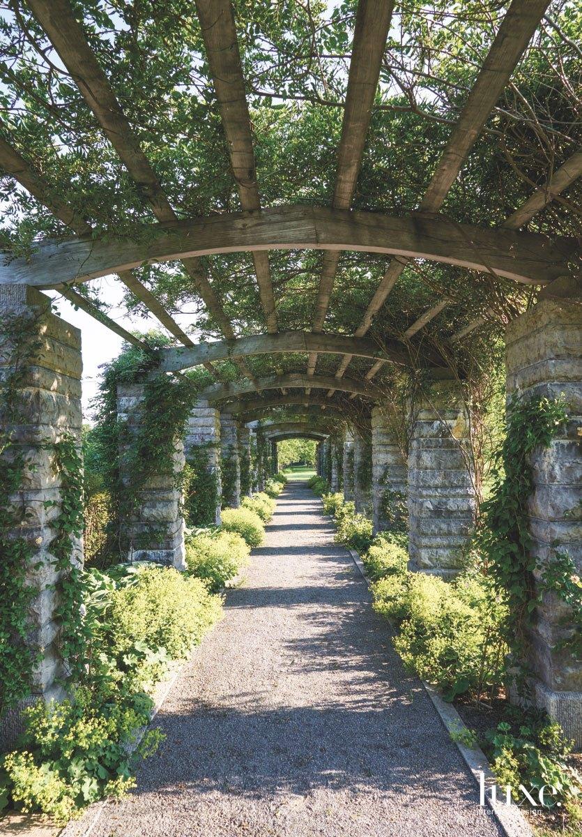 landscape outdoor walkway