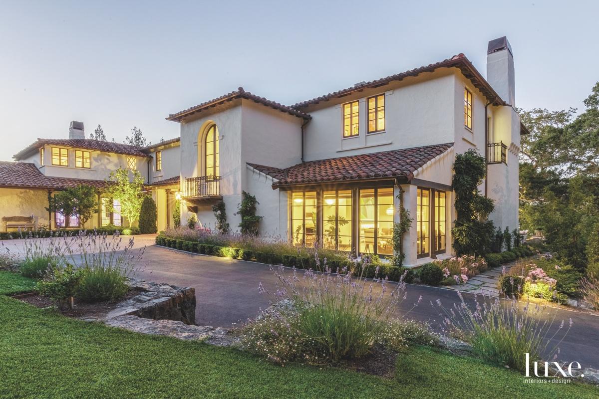 exterior landscape Hillsborough Residence